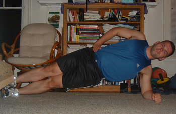 The Side Plank Exercise For Core Stability