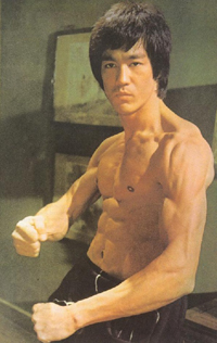Bruce Lee - Ripped Abs
